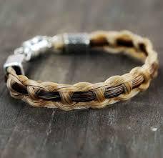 horsehair bracelet braided horse hair jewelry horse lover gifts equestrian bracelet equestrian jewelry shadow woven bracelet diy jewlery