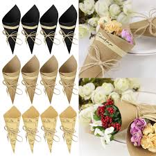 How To Make Paper Cones For Flower Petals Paper Cone Flower Holders Rome Fontanacountryinn Com