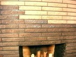 clean fireplace brick cleaning cleaner er red how to bricks around fi