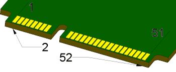 pci express mini card mini pcie pinout diagram pinoutguide com
