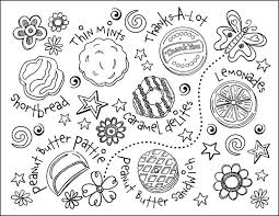 Small Picture Best Girl Scout Coloring Pages Pictures Coloring Page Design