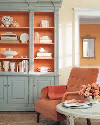 Pumpkin Spice Paint Living Room Orange Rooms Martha Stewart