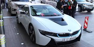 Sport Series how much is a bmw i8 : Rent A BMW i8 At Mall In Dubai - Video