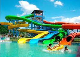 colorful swimming pool fiberglass water slide water park playground equipment