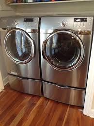 Washer And Dryer In Kitchen Love My Samsung Steam Washer And Dryer Appliances Pinterest