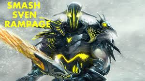 smash sven rampage don t mess with sven dota 2 pro youtube