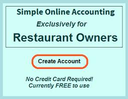 Restaurant Chart Of Accounts Chart Of Accounts For Restaurants Simple Restaurant Accounting