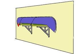 diy pvc kayak storage rack build canoe kayak storage rack