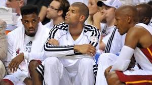 Players On The Miami Heat React To A Fart On The Bench  GifrificHeat Bench