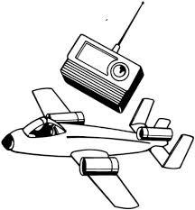 Radiografisch Vliegtuig Kleurplaat Gratis Kleurplaten Printen