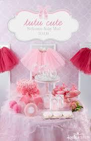 Tutu Cute Baby Shower   Kate Aspen