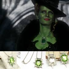 details about free once upon a time inspired zelena the wicked witch necklace