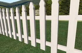Second Life Marketplace Sculpted Picket Fences Garden Fences