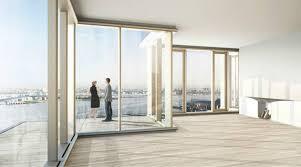 Large glass window. Es Pujol de S'Era by Mari Castell, Arquitecte. Large  floor-to-ceiling ...