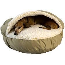 Amazon Snoozer Cozy Cave Khaki Small Pet Beds Pet Supplies
