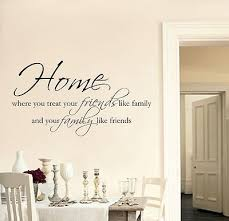 wall art stickers quotes for living room