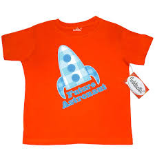inktastic future astronaut rocket ship toddler t shirt space outer about this item