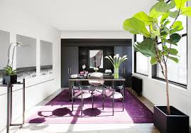 home office decorating ideas nyc. Fine Decorating A Rich Purple Rug Covers The Floor Ofu0026nbspan Executive Office In Fashion  Designer Kimora On Home Office Decorating Ideas Nyc R