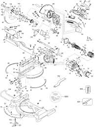 DW705_TYPE_8_WW dewalt dw705 parts list and diagram type 8 ereplacementparts com on dewalt dw705 wiring diagram