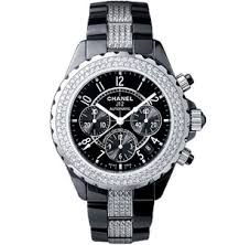 chanel j12 kim zolciak watch id chanel j12 chronograph watch black ceramic case and bracelet bezel and bracelet set diamonds model number h1706