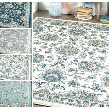 navy and cream rug navy area rug rugs blue white and cream carpet new damask brown