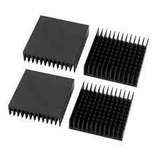 4 Pcs 40 x 40 x 11mm <b>High Quality Aluminum Heat</b> Sink for PC ...