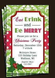Company Holiday Party Invitation Ideas Company Party Invitations