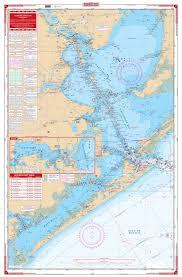 West Galveston Bay Depth Chart Galveston Bay Nautical Map Chart