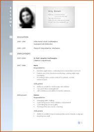Example Curriculum Vitae Curriculum Vitae Examples Sop Example 18