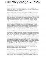Example Summary Essay Summary Analysis Essay Example Doing Marxist Analysis