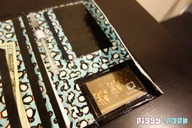 diy rfid secure penguin travel wallet id and passport holder