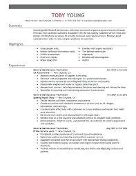 Automotive Technician Resume Simple Automotive Technician Resume Sample Automotive Technician Resume