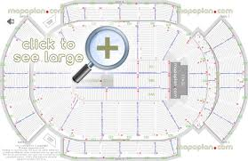 Key Arena Detailed Seating Chart Gila River Arena Seat Row Numbers Detailed Seating Chart
