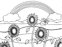 Small Picture Summer Coloring Pages And Free Printable glumme