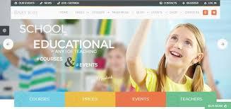 Kids School Website Template Popular And Best 8 Kids And Montessori School Responsive
