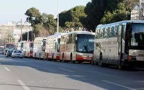 Αποτέλεσμα εικόνας για Ανατροπή λεωφορείου που μετέφερε μαθητές