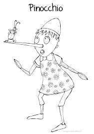 Disegno Da Colorare Bambini Gratis Pinocchio Grillo Parlante Favola