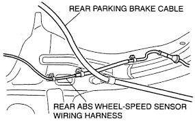 repair guides rear suspension wheel bearings autozone com pass the cable inside the rear wheel speed sensor wiring harness when installing mazda3