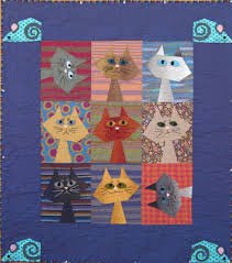 Dog Quilt Patterns Awesome Quilt Inspiration Free Pattern Day Cat And Dog Quilts
