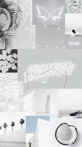 aesthetic wallpaper iphone white