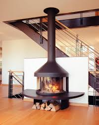 free standing wood burning fireplace living room beach for cute metal fireplace