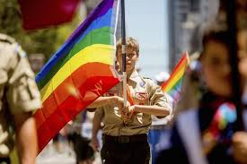 Gays banned from boy scouts