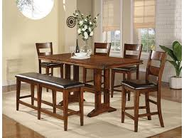 Mango 6 Piece Trestle Table Bench And Chair Set By Winners Only At Stegers Furniture