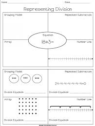 Second Grade Math Worksheets Understanding Division Sharing As By ...