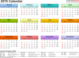 Sample 2015 Calendar 24 calendars 24 Calendar Excel Download 24 free printable 1