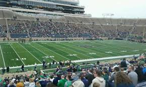 Notre Dame Stadium Section 13 Home Of Notre Dame Fighting