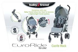 flex lock infant car seat new sold as a travel system stroller and baby trend loc
