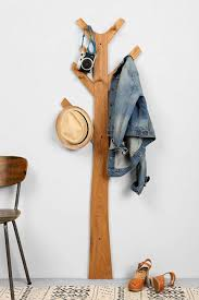 Coat Rack Attached To Wall Rich or Reasonable Tree Coat Racks 81