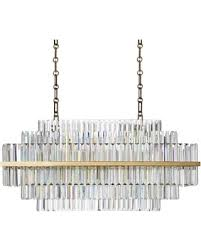 linear crystal chandelier. Vienna 32\ Linear Crystal Chandelier