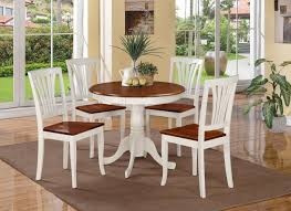 kitchen table and chairs black white hanging lamp stripped wood finish white leather fabrics cover white